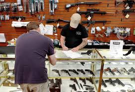 background check gun sales